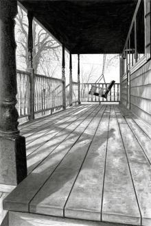 The Old Swing-Bench